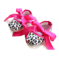 Wholesale Baby Prewalker Baby First Walkers Hot Sale Baby Shoes Toddler Shoes Cotton Shoes With Ribbon Bow