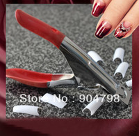 Full Natural Tips Square  Nail Tips 1 PCS Nail Art for Edge Cutter UV Acrylic False Nail Clipper Tips Manicure Pedicure Worldwide FreeShipping