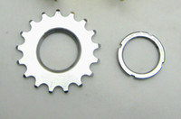 Wholesale 2pcs Cheaper T Cogs Lockring Threaded Fixed Steel Wheel Track Lock Ring Speed Bicycle Components amp Parts