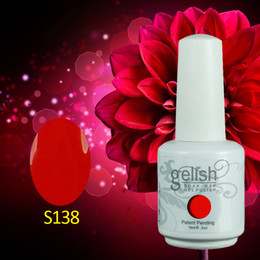 Wholesale ml Brand New Nexu Gelish Soak Off UV Nail Gel Polish Total Fashion Colors