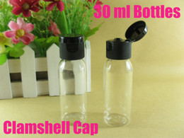 Wholesale 30ml clamshell cap bottle cosmetic bottles refillable bottle make up container small empty bottles high quality