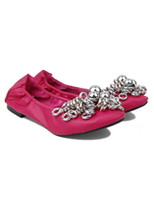 Wholesale Comfortable Round Toe Metallic Rings Woman s Ballet Flats women shoes r57 u14 N9i
