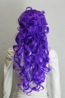 Cheap WIG_C49 New Arrival New Charming Hot Women's Long Wave Costumes Hair Fashion Full Wig