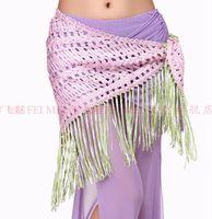 Belly Dancing Applique Chiffon Belly dance hip towel woven textile belt tassel hollow triangle tribal style Yao Jin hip scarf women wear danicng costumes