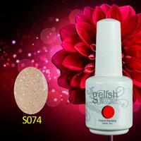 Wholesale 1500Pcs ml High Quality Gelish Soak Off UV Nail Gel Polish Long Lasting Total Fashion Colors
