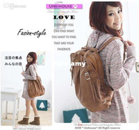 Wholesale NEW Korean Style Girl s PU Leather Backpack Handbag Shoulders Bag Colorful