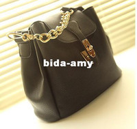 bags retailers - r or retailer gold chain black vintage ladies totes shoulder bags women s handbags