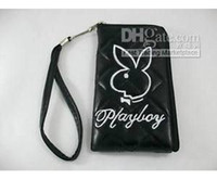 playboy bags - Hot selling1Pc Playboy Case Bag Pouch For Ipod Mp3 Mp4 Mobile Phone Black