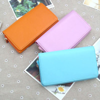Wholesale Hot New Fashion Womens Lady Envelope Wallet Purse Pu Leather Clutch GZBG