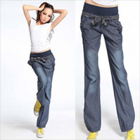 Wholesale 2014 autumn new women s Bloomers Wide Leg Pants Korean Fashion Elastic Waist s casual bow Woman