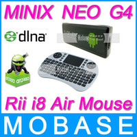 Best [Rii mini i8 Air Mouse] MINIX NEO G4 DLNA RK3066 Dual Core Cortex A9 Google Android 4.1 WiFi USB HDMI Internet Smart TV Box