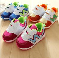 Wholesale 10 off Children s sports shoes spring l26 yards eisure baby shoes antiskid kids shoes quot N quot toddler shoes boy shoes pairs ZL