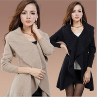 Wholesale 2014 European style Mink cashmere coat Thick Primer shirt Bat type coat Fashion mink cashmere overcoats Colors