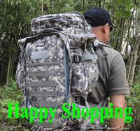 Wholesale Molle combination shiralee multifunctional mountaineering bag travel backpack bag ACU