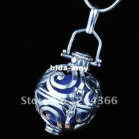 Wholesale A2205 Nice fashion Mexico Ball Thai Silver Harmony Ball bell Charm Pendant Pregnant women ball