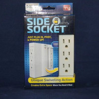 Wholesale 60pcs Side Socket Surge Protector Swivel Outlet Hot Arrival