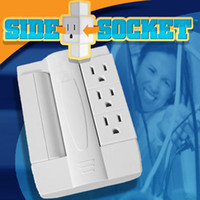 Wholesale 40pcs Side Socket Surge Protector Swivel Outlet Hot Arrival