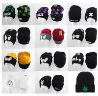 Wholesale KAZE KUSH DOPE FAITH Beanies Cheap Classic Dope Diamond Adjustable Snapbacks Hats Cap Winter Street Wear Hip Hop Beanies Caps
