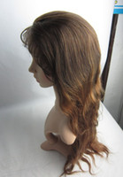 Cheap two tone #3 #30 two tone full lace wig Best Malaysian Hair Natural Wave ombre full lace wig