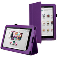 "Cheap S5Q 9"" Tablet Leather Smart Stand Case Cover Protector For Barnes & Noble Nook HD AAACHB"