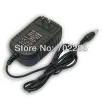 Wholesale US EU AU UK V A W Wall Mounted AC DC Adapter Transformer Power Supply for led lighting strips Input V AC Output V DC