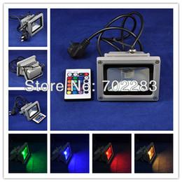 Outdoor LED Floodlights Waterproof LED RGB 10W 110V 220V for Wall Lighting