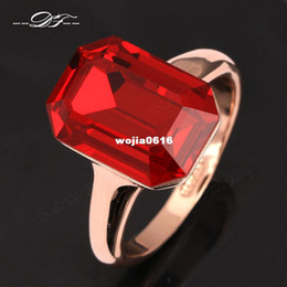 New Exaggerated Crystal Rock Party Ring Wholesale 18K Gold Plated Fashion Imitation Gemstone Engagement Jewelry For Women DFR318