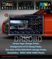 Best Wholesale - Universial WINCE6.0R3 1080P MP5 3G WIFI digital TV 7'' double din car radio,2 din car radio