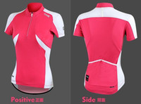 Wholesale 2013 hot selling woman pink color cycling wear cycling top