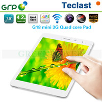 Cheap 2014 New Teclast G18 Mini built-in GPS 3G Phone Call Tablet PC 7.9 inch Google Android 4.2 Quad Core 1.2GHz