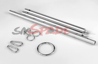 Wholesale Stainless steel spreader bar for restraint handcuffs and collar adult bondage accessories sex product for couple
