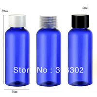 Wholesale ml bluePET bottle ml shampoo shower gel ml cosmetic packaging