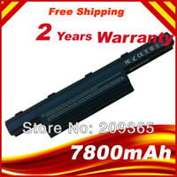 Wholesale 7800mAh Laptop Battery AS10D31 AS10D3E AS10D41 AS10D51 AS10D61 AS10D71 AS10D73 AS10D75 BT For Acer Laptop