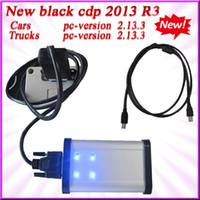Code Reader For BMW TCS CDP+ HK Free shipping--2013.3 R3 version free activation with flight and speaker function!-- LED gray TCS CDP+ PRO Plus CARs+TRUCKs freeshipping