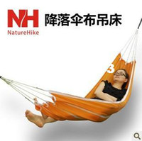 Cheap Naturehike outdoor parachute cloth ultra-light hammock singleplayer casual breathable swing bed 190 85cm