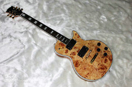 Electric Guitar with Rooted Maple Top Natural best selling Les Custom VOS Electric Guitar