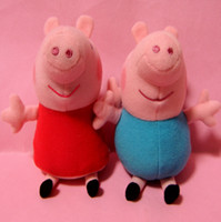 Wholesale Peppa Pig Plush Toy inch Peppa Pink Doll Baby Plush Toys Best Gift for Children Kids Christmas Gift