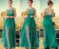 cheap formal dresses for women - Designer Elegant Beaded Lace Appliques Chiffon Light Green Pageant Dresses For Women Formal Dresses Cheap Dresses C10