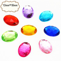 Wholesale 13 Oval Faceted Imitation Diamond DIY Handmade Candy Box Accessories Decorative Bow Tinplate Accessories