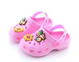 Wholesale New Brand Children Kids Cartoon Eva Slipper Garden Mules Clogs Slipper Sandals Shoes For Baby Boys Baby Girls
