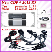 Wholesale DHL with full set car cables V2013 R3 TCS CDP pro plus generic in1 multi languages auto compact diagnostic tools