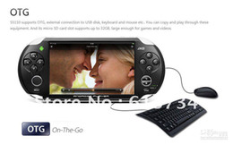 Wholesale - JXD S5110 MP3 MP4 MP5 Game Player Android 4.0 OTG WIFI Ice Cream Screen Games Console
