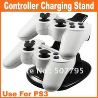 Wholesale Big Discount Dual Controller Charging Stand Use For PS3 and Retail
