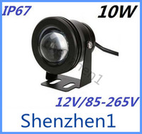 Wholesale 10W V Led Floodlight Warm Cool White RGB Outdoor Led Underwater Lights Waterproof IP67 Garden Lights