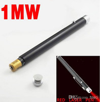 Wholesale Cheap Red Laser Pointer Pen mW mw nm light Beam Red Laser Pen For SOS Mounting Night Hunting teaching DHL FREE