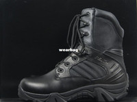army specialist - PAIR Delta Outdoor Camping Specialist Boots Army Boots Shoes EMS Brown Black Chinese Size