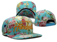 Wholesale THE HUNDREDS Floral Snapback flower hats women amp men s sports snap backs baseball caps styles sun shading hat