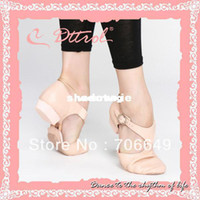Wholesale Dttrol hot sale leather adult teacher dance jazz sandal shoes D005353