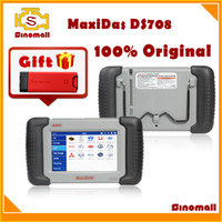 Wholesale 2014 Autel MaxiDAS DS708 Professional auto scanner online update DS Multi language with free gift Launch x431 Idiag