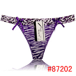 Wholesale 2014 new women g string cotton thong fashion leopard print lady panties sexy t back hot lingerie sexy intimate women underwear wholesell